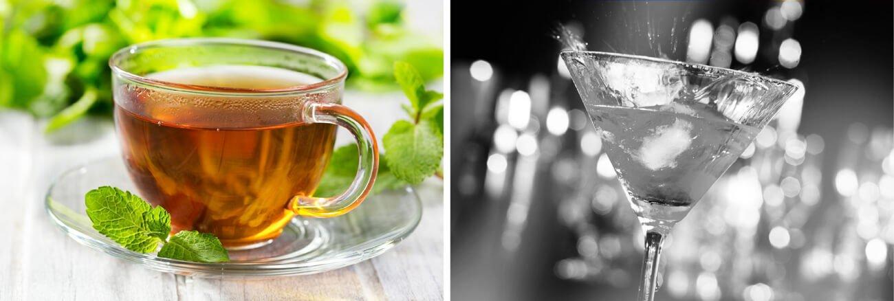 Kava in alkohol ali mleko in čaj pred spanjem