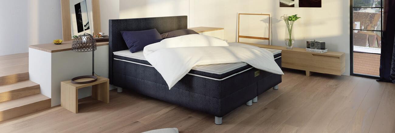 Vodna postelja v ambientu