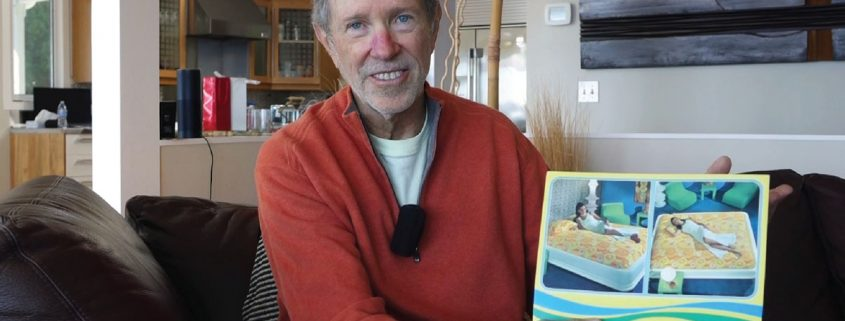 Charlie Hall, izumitelj vodne postelje