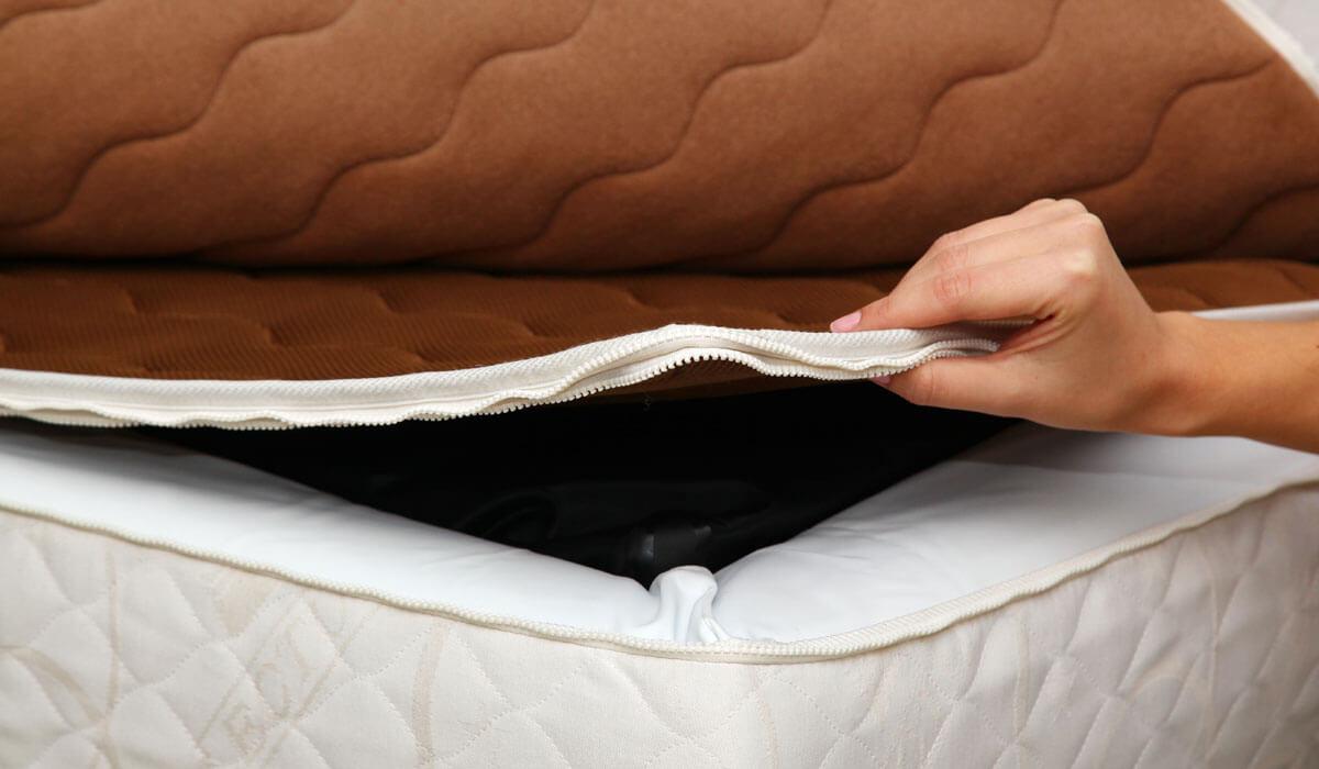 Prevleka Air-Tex za uporabnike vodne postelje.