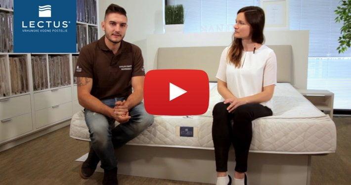 Letni servis vodne postelje - video